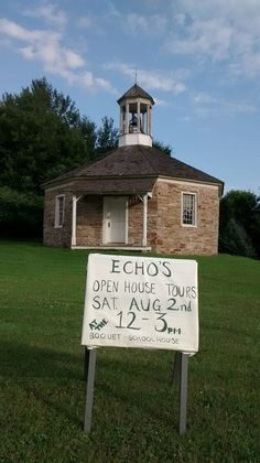 On Essex Day Aug. 2014, ECHO hosted open house tours of the Boquet Schoolhouse. (Credit: ECHO)