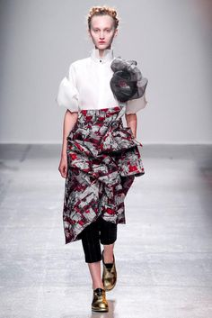 Aganovich Spring 2015 Ready-to-Wear - Collection - Gallery - Look 1 - Style.com