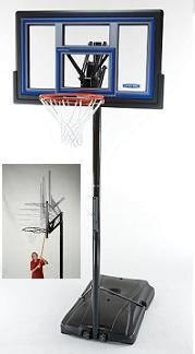 SO Lifetime 1466 Courtside™ 50 Inch Quick Adjust II Portable Hoop Goal Basketball System