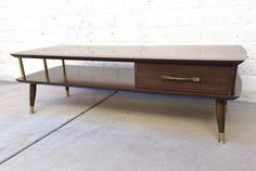 MCM Coffee Table with Drawer