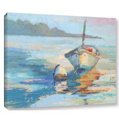'Monhegan Island Taxi' Print on Wrapped Canvas
