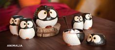 Woodland Owl Teapot and Cup Set