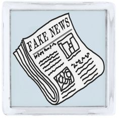 Fake News Lapel Pin, Silver Plated.  One for the media junkie! Premium finish rhodium plating over brass body. Choice of 3 shapes. Choice of 3 finishes: silver, gold, gunmetal https://www.zazzle.com/fake_news_lapel_pin_silver_plated_silver_finish_lapel_pin-256743449551361023 #FakeNews #LapelPin #pin #media #gift #politics