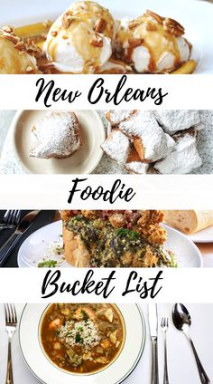 New Orleans Foodie Bucket List: 21 Must Eat's! 21 Must eat's in New Orleans. A foodie's guide to NOLA. New Orleans Travel Guide, New Orleans Vacation, Visit New Orleans, French Donuts, Okra Gumbo, Fire Food, Vacations To Go, Most Popular Recipes, Food Staples