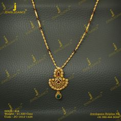 Gold 916 Premium Design Get in touch with us on Golden Jewelry, Greek Jewelry, Chain Jewelry, Indian Jewelry, Gold Bangles Design, Gold Jewellery Design, Simple Jewelry, Simple Necklace, Gold Mangalsutra Designs