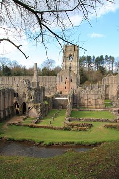 Fountains Abbey, North Yorkshire, England (UK) by PaulBagshaw Yorkshire England, Yorkshire Dales, North Yorkshire, Visit Yorkshire, England And Scotland, England Uk, Places To Travel, Places To See, Place Of Worship