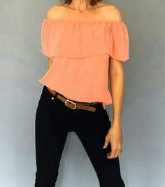 #kaboofashion soft cotton off shoulder tops.....loving summer days