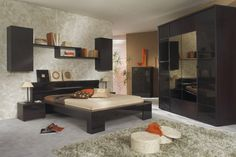 What Colors Go Well With Dark Brown Wenge Furniture – 35 Ideas | Decor10