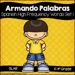 Free Downloads - | Spanish Word Wall, Dual Language, Spanish Language, Language Arts, Word Work Centers, Word Building, Early Reading, Bilingual Education, High Frequency Words