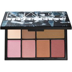 NARS Nars Steven Klein Collaboration One Shocking Moment Cheek Palette ($69) ❤ liked on Polyvore featuring beauty products, makeup, beauty, nars cosmetics and palette makeup