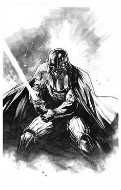 Darth Vader by Stephen Segovia