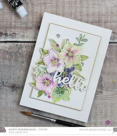 Watercolored Hellebores with Dawn ft. JoiArt Watercolors