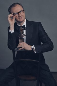 Best supporting actor winner Mark Gatiss photographed as a part of the portfolio… The Olivier Awards Vanity Fair UK Sherlock Bbc, Sherlock Fandom, Jim Moriarty, Mycroft Holmes, Martin Freeman, Benedict Cumberbatch, Una Stubbs, League Of Gentlemen, Louise Brealey
