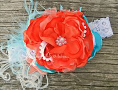 Finding Nemo Headband - Summer 2013 Collection by Izzy & Isla