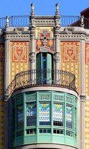 Балконы и эркеры Барселоны