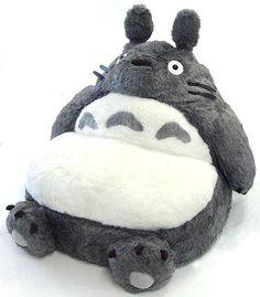 Totoro sofa. I want!!