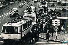 Piata Universitatii la inceputul anilor 70.
