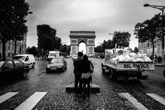 B&W shots from my recent stop in Paris