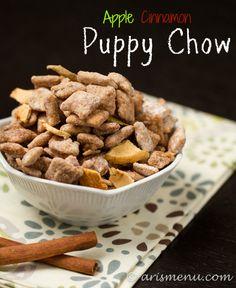 apple cinnamon puppy chow