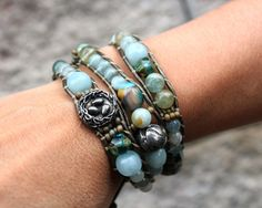 Flying Home 3-Wrap Bracelet (Customer Design) - Lima Beads