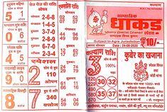 Kalyan Tips, Online Chart, Bullet Journal