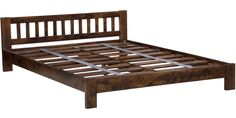 Buy Amarillo King Size Bed in Provincial Teak Finish by Woodsworth Online - King Sized Beds - Beds - Pepperfry