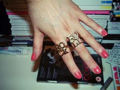 rock and roll rings- i want these!!!!!! @Sandy Dua check these out!