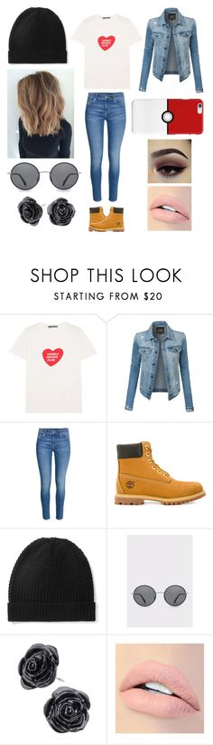 """Matching Outfits - CJ XD"" by thirtysecondsatthepityparty ❤ liked on Polyvore featuring AlexaChung, LE3NO, Timberland, Madeleine Thompson, Paul Smith and Jouer"