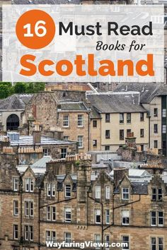 Get inspired with this epic list of 16 books set in Scotland. Outlander | Historical FIction | Travel resources | #scotland #requiredreading
