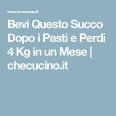 Bevi Questo Succo Dopo i Pasti e Perdi 4 Kg in un Mese | checucino.it