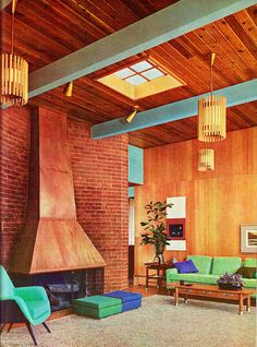 From Better Homes & Gardens Decorating Ideas 1960.
