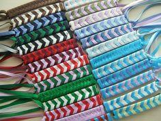 Braided Ribbon Barrette (1 barrette) - Your Choice (Custom Barrette Order). $6.00, via Etsy.