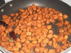 Soya Chunks Fry(Meal Maker Recipe) ~ Easyfud