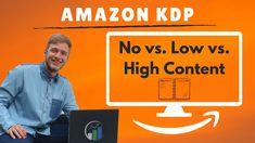 Amazon KDP low content, no content und high content einfach erklärt! Ama... Ebook Cover, Childrens Books, Coaching, Content, Marketing, Amazon, Videos, Youtube, Notebook
