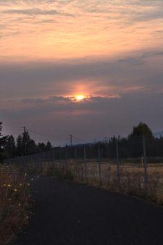 Sunrise Fairview Oregon 8/22/2013