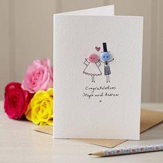 Of Six Handmade Button Balloon Birthday Cards Personalised 'Button Mummy' Handmade Card Wedding Cards Handmade, Handmade Birthday Cards, Card Wedding, Birthday Cards For Mum, Card Birthday, Fabric Cards, Button Cards, Fathers Day Cards, Hand Illustration