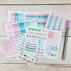 Hey, I found this really awesome Etsy listing at https://www.etsy.com/listing/259823571/itty-bitty-february-planner-bundle