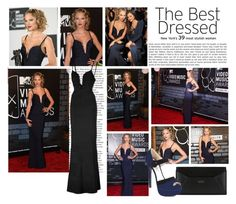 """2013 MTV Video Music Awards~ Taylor Swift"" by snugget9530 ❤ liked on Polyvore featuring Ultimate and Hervé Léger"