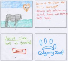 On August 6, the Calgary Zoo's biggest fans lent us their artistic talents to create an advertising campaign to help us rebuild the zoo.