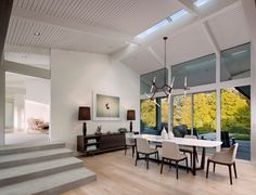 Anthony Residence midcentury-dining-room
