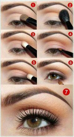 #Natural look eye #makeup #tutorial