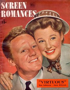 Van Johnson and June Allyson Feb.1948