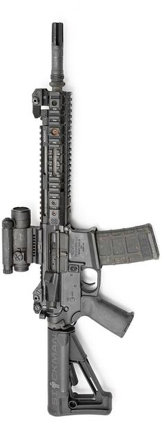 Well used Noveske SBR. By Stickman.Loading that magazine is a pain! Get your Magazine speedloader today! http://www.amazon.com/shops/raeind