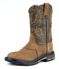 $99.95-$89.95 Baby Ariat Workhog Pull-On Western Boot (Toddler/Little Kid/Big Kid),Aged Bark/Army Green,8 M US Toddler - Kids Ariat Work Boots: Boys Western Work Boots Roper Pull On 4LR Childrens Work Boots Grandma Bait -Get Hooked 10007836 http://www.amazon.com/dp/B004I1VRMM/?tag=pin2baby-20
