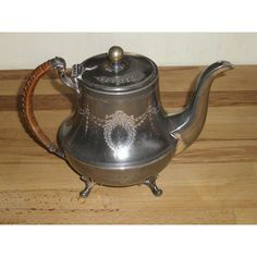 Vintage Silver Plated Teapot - S.M. & Co Listing in the Silver Plated,Metalware,Collectables Category on eBid United Kingdom | 151085322