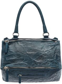 GIVENCHY Blue Medium Pandora Bag.  givenchy  bags  shoulder bags  leather   cd29cded30b65