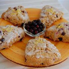 Huckleberry-Lemon Scones Recipe - Allrecipes.com