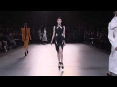 Thierry Mugler Autumn/Winter 2012/2013. I am simply smitten by the architectural aesthetic of Mugler's gowns.