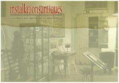 Installations Antiques. Houston, Texas.