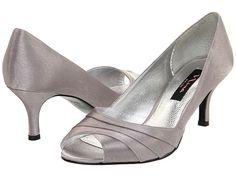 Nina Criana Royal Silver Satin - Zappos.com Free Shipping BOTH Ways....Something like this for bridesmaid maybe????